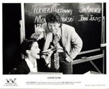 "Kirk Cameron & Jami Gertz ""Eat Her Words"" LIMITED STOCK 8X10 Photo"