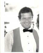 Roger Moore LIMITED STOCK 8X10 Photo