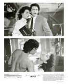 "Geena Davis & Jeff Goldblum ""The Fly"" LIMITED STOCK 8X10 Photo"