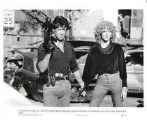 """Sylvester Stallone & Brigitte Nielsen """"Cobra"""" LIMITED STOCK 8X10 Photo"""