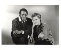 River Phoenix & Sidney Pottier LIMITED STOCK 8X10 Photo