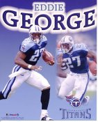 Eddie George LIMITED STOCK Tennessee Titans 8X10 Photo