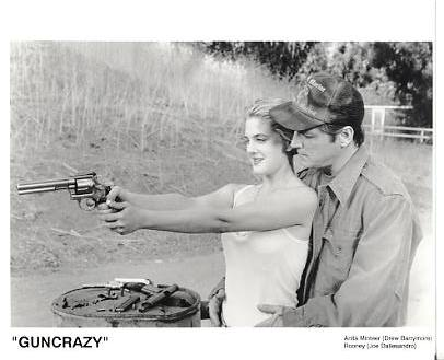 "Drew Barrymore & Joe Dallesandro ""GunCrazy"" LIMITED STOCK 8X10 Photo"
