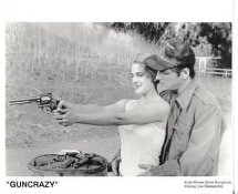"Drew Barrymore & Joe Dallesandro ""GunCrazy"" LIMITED STOCK 8X10 Photo"