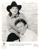 "Willie Nelson & Kris Kristofferson ""A Pair Of Aces"" LIMITED STOCK 8X10 Photo"
