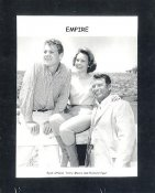 "Ryan O'Neal, Terry Moore & Richard Egan ""Empire"" May Have Slight Creases LIMITED STOCK 8X10 Photo"