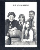 """Lou Gossett Jr., Hilarie Thompson, Rick Ely & Alex Henteloff """"The Young Rebels""""  May Have Slight Creases LIMITED STOCK 8X10 Photo"""