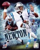 Cam Newton Carolina Panthers SATIN 8X10 Photo