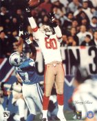 Jerry Rice San Francisco 49ers SUPER SALE Paper Stock 8X10 Photo