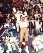 Jerry Rice San Francisco 49ers SUPER SALE Paper Stock 8X10 Photo