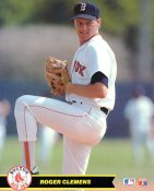 Roger Clemens Boston Red Sox Glossy Card Stock 8X10 Photo LIMITED STOCK