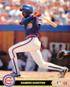 Shawon Dunston Chicago Cubs SUPER SALE Glossy Card Stock 8X10 Photo