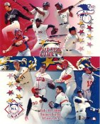All-Star 2000 LIMITED STOCK American League / National League Team Photos 8X10 Photo