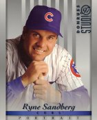 Ryne Sandberg LIMITED STOCK Chicago Cubs Donruss Studio 8X10 Photo