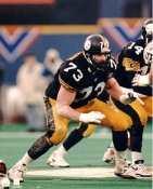 Justin Strzelczyk LIMITED STOCK Pittsburgh Steelers 8x10 Photo