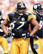 Kimo von Oelhoffen LIMITED STOCK Pittsburgh Steelers 8x10 Photo