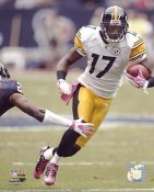 Mike Wallace LIMITED STOCK Pittsburgh Steelers 8x10 Photo