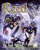 Ed Reed LIMITED STOCK Baltimore Ravens SATIN 8X10 Photo