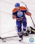 Ryan Nugent-Hopkins 1st NHL Goal Edmonton Oilers 8x10 Photo