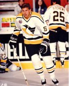Ulf Samuelsson LIMITED STOCK Pittsburgh Penguins 8x10 Photo