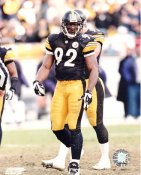 Jason Gildon LIMITED STOCK Pittsburgh Steelers 8x10 Photo