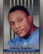 Barry Sanders LIMITED STOCK DonRuss Studio Detroit Lions 8X10 Photo