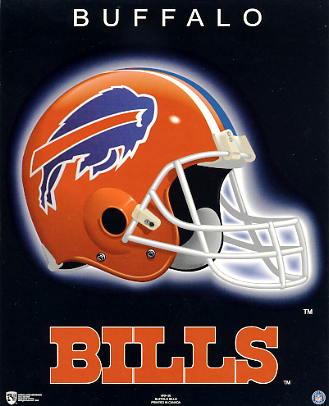 Bills A1 Buffalo Team Helmet SUPER SALE Paper Stock 8X10 Photo