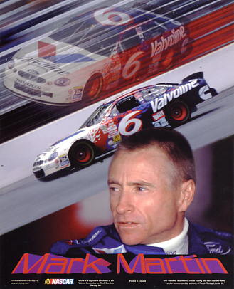 Mark Martin SUPER SALE Paper Stock 8X10 Photo