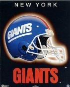 Giants A1 New York Team Helmet SUPER SALE Paper Stock 8x10 Photo