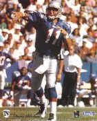 Drew Bledsoe New England Patriots SUPER SALE Paper Stock 8X10 Photo
