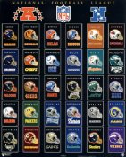 National Football League Helmets 30 Teams Old Houston Oilers SUPER SALE Paper Stock 8x10 Photo