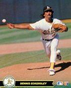 Dennis Eckersley Oakland Athletics SUPER SALE Glossy Card Stock 8X10 Photo