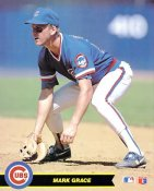 Mark Grace Chicago Cubs Card Stock 8X10 Photo