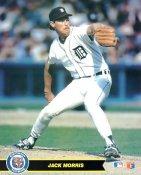 Jack Morris Detroit Tigers Card Stock 8X10 Photo
