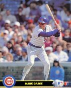 Mark Grace Chicago Cubs SUPER SALE Glossy Card Stock 8X10 Photo