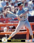Mark McGwire Oakland Athletics SUPER SALE Glossy Card Stock 8X10 Photo