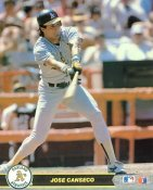Jose Canseco Oakland Athletics SUPER SALE Glossy Card Stock 8X10 Photo