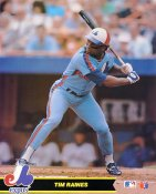 Tim Raines Montreal Expos SUPER SALE Glossy Card Stock 8X10 Photo