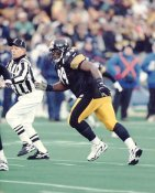 Levon Kirkland LIMITED STOCK Pittsburgh Steelers 8X10 Photo