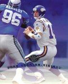 Brad Johnson LIMITED STOCK DonRuss Studio Card Minnesota Vikings 8X10 Photo