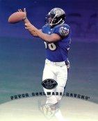 Peter Boulware LIMITED STOCK DonRuss Studio Card Baltimore Ravens 8X10 Photo