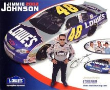 Jimmie Johnson LIMITED STOCK Racing 8X10 Photo