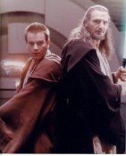 Liam Neeson & Ewan McGregor Star Wars The Phantom Menance LIMITED STOCK 8X10 Photo