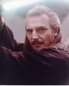 Liam Neeson Star Wars The Phantom Menance LIMITED STOCK 8X10 Photo