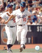 Ron Cey & Tommy Lasorda LIMITED STOCK Los Angeles Dodgers 8X10 Photo