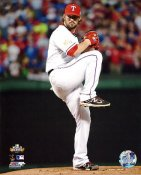 CJ Wilson 2011 World Series Game 5 Texas Rangers 8X10 Photo