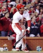 David Freese 2011 World Series Walk Off Game Win H.R. Game 6 St. Louis Cardinals SATIN 8X10 Photos