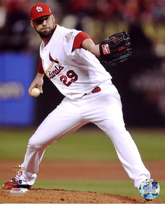 Chris Carpenter 2011 World Series Game 7 St. Louis Cardinals 8x10 Photo