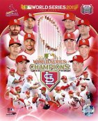 Cardinals 2011 St. Louis World Series Champions Composite 8X10 Photo