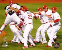 Cardinals 2011 St. Louis Celebrates World Series Win LIMITED STOCK 8X10 Photo